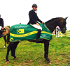 Peter Smyth takes the Horseware/ TRM National GP title at Galway County Show