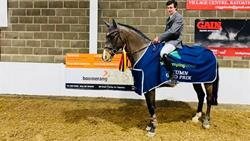 ** Wicklow Young Rider Brendan Murphy takes the win in the SJI Autumn Grand Prix Series at Killossery Lodge Stud **